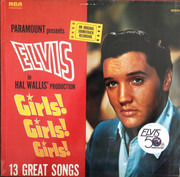 LP - Elvis Presley - Girls! Girls! Girls!