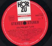 LP - Elvis Presley - Golden Boy - Rare German Pressing