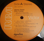 LP - Elvis Presley - Good Times - Still Sealed