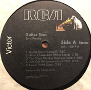 LP - Elvis Presley - Guitar Man - Still sealed