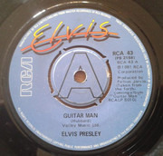 7inch Vinyl Single - Elvis Presley - Guitar Man