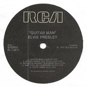 LP - Elvis Presley - Guitar Man