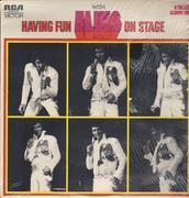 LP - Elvis Presley - Having Fun With Elvis On Stage - Label Variation
