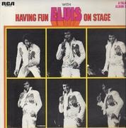 LP - Elvis Presley - Having Fun With Elvis On Stage