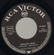 7inch Vinyl Single - Elvis Presley - Hound Dog - Picture Sleeve