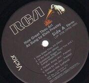 LP - Elvis Presley - How Great Thou Art
