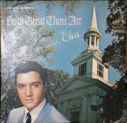 LP - Elvis Presley - How Great Thou Art - Rockaway pressing