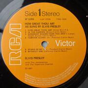 LP - Elvis Presley - How Great Thou Art - UK