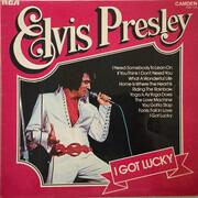 LP - Elvis Presley - I Got Lucky - Turquoise label