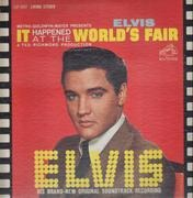 LP - Elvis Presley - It Happened At The World's Fair - USA LIVING STEREO