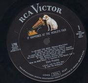 LP - Elvis Presley - It Happened At The World's Fair - w/ Photo