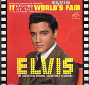 LP - Elvis Presley - It Happened At The World's Fair - Hollywood Pressing