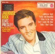 7inch Vinyl Single - Elvis Presley - Jailhouse Rock
