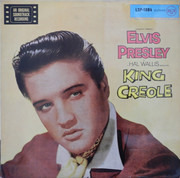 LP - Elvis Presley - King Creole - v4 label