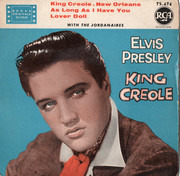 7inch Vinyl Single - Elvis Presley - King Creole - Black labels