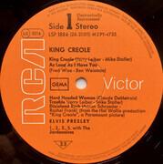 LP - Elvis Presley - King Creole