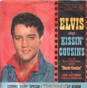 7inch Vinyl Single - Elvis Presley - Kissin' Cousins