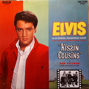 LP - Elvis Presley - Kissin' Cousins - US PRESS