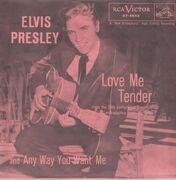 7inch Vinyl Single - Elvis Presley - Love Me Tender - Original US, Picture Sleeve