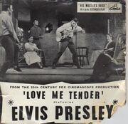 7inch Vinyl Single - Elvis Presley - Love Me Tender - Original UK EP