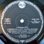 LP - Elvis Presley - Loving You - Mono