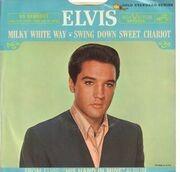7inch Vinyl Single - Elvis Presley - Milky White Way - Original US Promo, Picture Sleeve