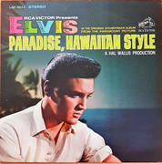 LP - Elvis Presley - Paradise, Hawaiian Style - Matrix Variation