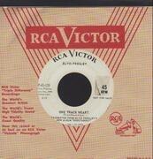 7inch Vinyl Single - Elvis Presley - Roustabout - PROMO