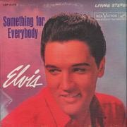 LP - Elvis Presley - Something For Everybody - Unique Canadian Cover