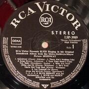 LP - Elvis Presley - Speedway - RARE ORIGINAL, BLACK LABEL