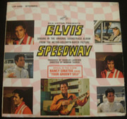 LP - Elvis Presley - Speedway - US PRESS