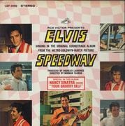 LP - Elvis Presley - Speedway - PROMO / INCL. PHOTO