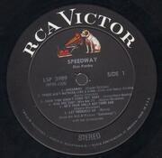LP - Elvis Presley - Speedway - PROMO / INCL. PHOTO
