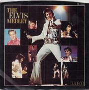 7inch Vinyl Single - Elvis Presley - The Elvis Medley - Indianapolis Pressing