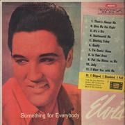 LP - Elvis - Something for Everybody (Algo Para Todos) - OG Argentinean Mono Pressing