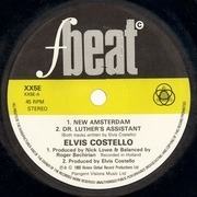 7'' - Elvis Costello - New Amsterdam