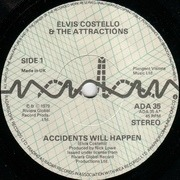 7'' - Elvis Costello & The Attractions - Accidents Will Happen