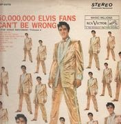 LP - Elvis Presley - 50,000,000 Elvis Fans Can't Be Wrong - US STEREO