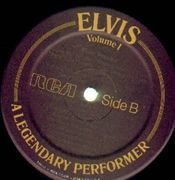 LP - Elvis Presley - A Legendary Performer Volume 1 - No BOOKLET