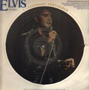 Picture LP - Elvis Presley - A Legendary Performer Volume 3 - PICTURE DISC