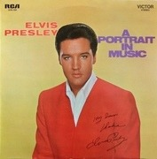 LP - Elvis Presley - A Portrait In Music - Swiss Pressing