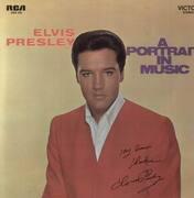 LP - Elvis Presley - A Portrait In Music
