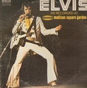 LP - Elvis Presley - As Recorded At Madison Square Garden - BLACK DYNAFLEX