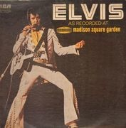 LP - Elvis Presley - As Recorded At Madison Square Garden - ORANGE DYNAFLEX