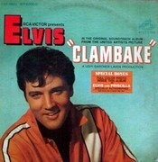 LP - Elvis Presley - Clambake - WITH PHOTO