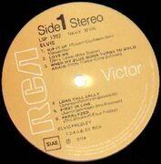 LP - Elvis Presley - Elvis