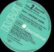 LP - Elvis Presley - Elvis' Christmas Album (1970)