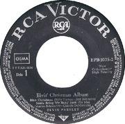 7'' - Elvis Presley - Elvis' Christmas Album - Artist sleeve