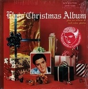 LP - Elvis Presley - Elvis' Christmas Album (1957) - Green