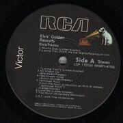 LP - Elvis Presley - Elvis' Golden Records Volume 1 - BLACK LABELS